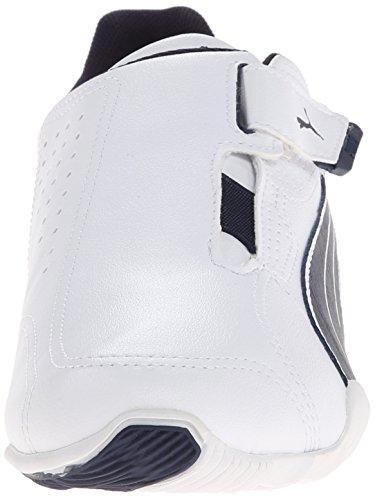 Puma - Zapatillas de cuero para hombre White/Peacoat