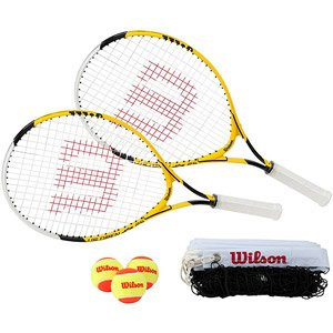 Image Unavailable. Image not available for. Color  Wilson Home Youth Tennis  Starter Kit ... df50ee5071