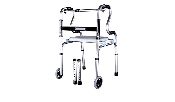 Anciano Walker Aleación de aluminio Heridas Muletas Equipo ...