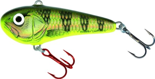 Salmo CD3-GYP Chubby Darter Lure, Gold Yellow Perch, 1 1/3-Inch (Salmo Lures Fishing)