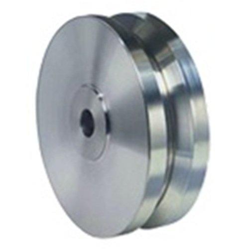 Hamilton 8'' X 2'' Stainless V-Groove Wheel, 3/4'' Plain Bore, 1500 lb