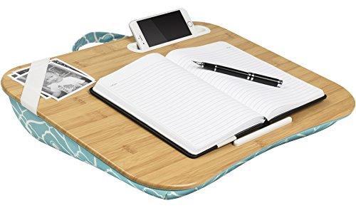 LapGear Designer Lap Desk-Aqua Trellis (Fits up to  17.3
