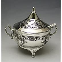 Honey Dish Silver Plated