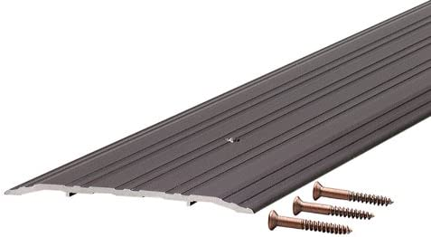 M-D Building Products 68395 1/4-Inch by 5-Inch – 36-Inch TH042 Fluted Saddle, Bronze