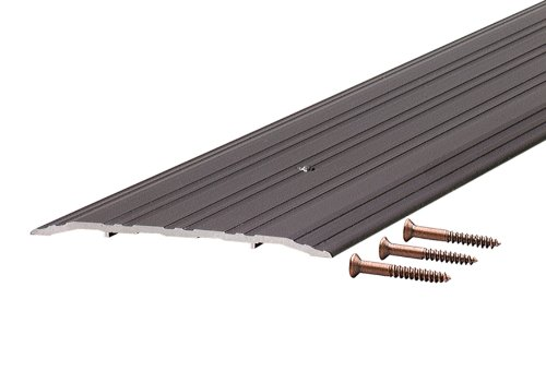 M-D Building Products 68395 1/4-Inch by 5-Inch - 36-Inch TH042 Fluted Saddle, Bronze ()