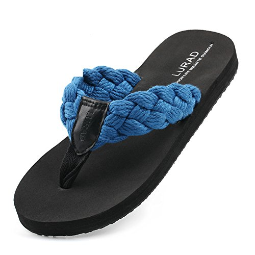 6c9ce86e8ed01e Domineering mens flip-flops Summer fashion non-slip platform Sandals Beach  shoes