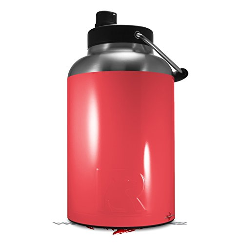 Skin Decal Wrap for 2017 RTIC One Gallon Jug Solids Collection Coral (Jug NOT INCLUDED) by WraptorSkinz (Collection Coral)