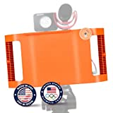 Filmmaking Case Video Rig Kit For Apple IPad Mini 4 with Lens Adapter, Tripod Mount and Stabilizer Grip - Limited Edition Anniversary Orange - Made in USA by IOgrapher