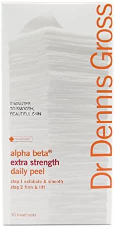 Dr. Dennis Gross Skincare Alpha Beta Daily Face Peel, Extra Strength, 30 Packettes