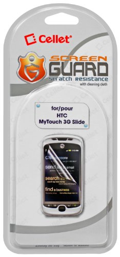 Cellet Super Strong Maximum Protection Screen Protector for HTC myTouch 3G Slide
