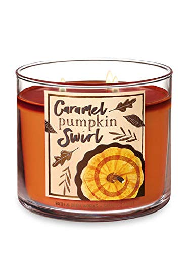 Bath & Body Works 3-Wick Scented Candle in Caramel Pumpkin Swirl