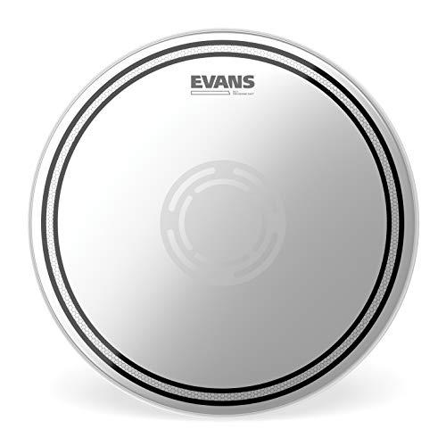 Evans EC1 Reverse Dot Snare Batter Drum Head, 13 inch (Best Snare Batter Head)