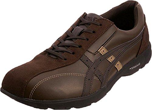 高齢者 靴 ウォーキングシューズ スニーカー 男性 便利 軽い 安心 補助 介護 敬老の日 贈り物 プレゼント ライフウォーカーTDL200 コーヒー アシックス/27.0cm B075T165F8 27.0cm