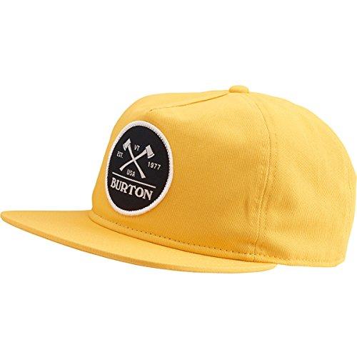 BURTON Men's Woodsman Snapback Hat, Golden Rod, One Size