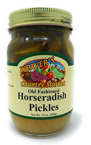 Weaver's Country Market Horseradish Pickles (1-15 Ounce Jar)
