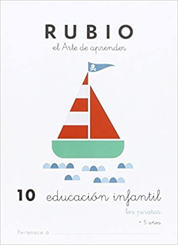 EDUCACIÓN INFANTIL 10: LOS PIRATAS - 9788415971900: Amazon.es ...