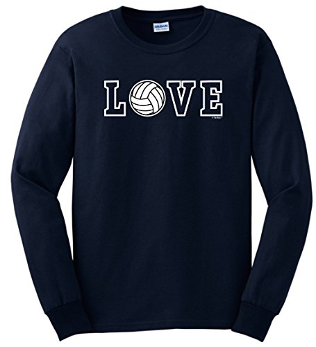 Volleyball Shoes Volleyball Gifts Love Spelled with Volleyball Long Sleeve T-Shirt Large - Olympic Basketball Is A Summer Sport