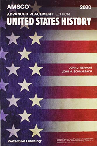 Advanced Placement United States History, 2020 Edition (History Of Us)