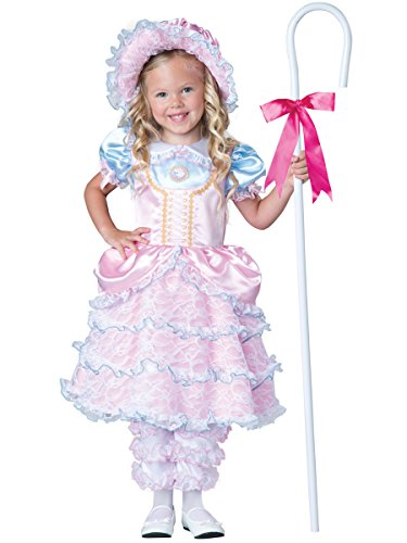 InCharacter Costumes Women's Little Bo Peep Costume, Pink, Small (Bo Peep Costume For Adults)