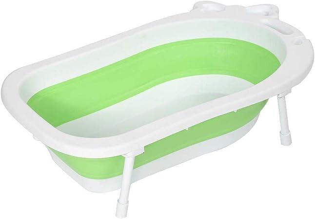 leicht und stabil Ricco Faltbare Baby-Badewanne f/ür Kinder und Kleinkinder ab 10 Monaten