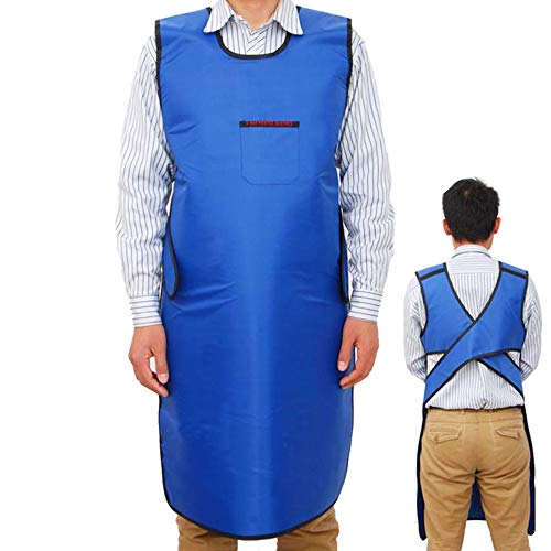 (zinnor X-Ray Lead Apron and Lead Protection Vest Cover Shield Use for Hospital, Laboratory,Light Weight, 0.35mmPb)