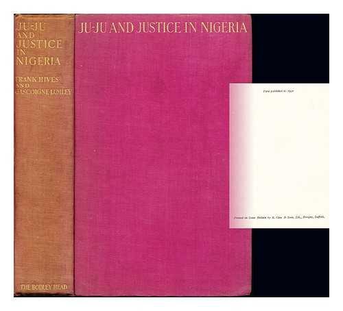 Ju-ju and justice in Nigeria
