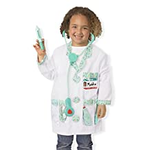 Melissa & Doug Doctor Role Play Costume Dress-Up Set (7 pcs)