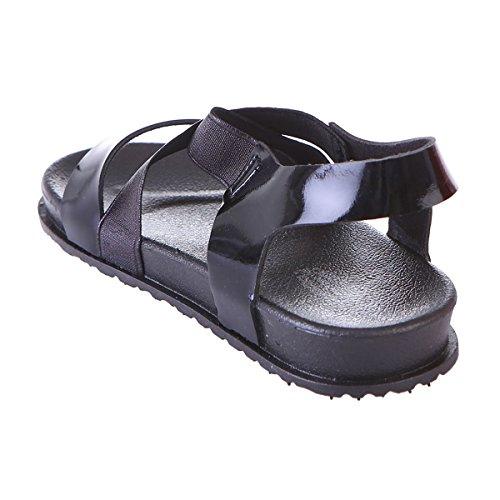 Sandales pour La Enfant Modeuse Noir CxSvwqnS5H