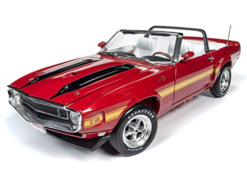 American Muscle - Diecast Model Cars - 1970 Shelby GT500 Convertible - 1/18 Scale Die Cast Replica