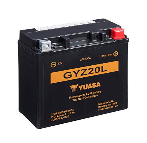 Yuasa GYZ20L Hoge performantie MF Moto batterij