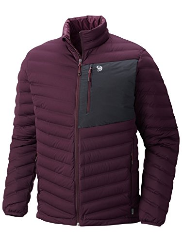 Mountain Hardwear Men's Stretchdown Jacket, Dark Tannin, XLarge