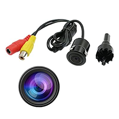 i-Ever Color CMOS CCD Flush Mount Waterproof Truck Car Reverse Backup Rear View Camera