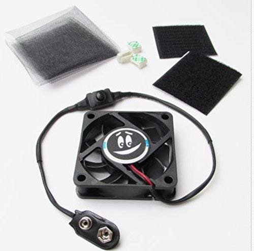 USA Premium Store 2.5'' 9V MINI COOLING FAN KIT for Mascot Costume Cosplay 9 Volt Battery Portable by USA Premium Store