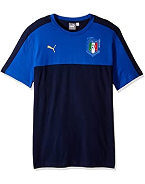 Men's Figc Italia Tribute 2006 Badge Tee