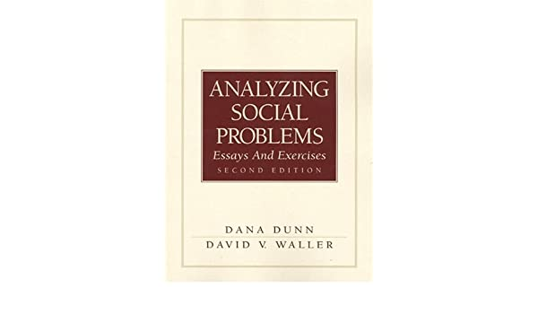Analyzing Social Problems: Essays and Exercises (2nd Edition