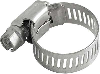 LDR 1/2-Inch to 3/4-Inch Adjustable Stainless Steel Hose Clamp