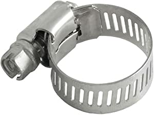LDR 610 6312 1-1/16-Inch to 1-1/4-Inch Adjustable Stainless Steel Hose Clamp