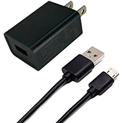 [UL Listed]Kindle Fire Charger,BestPlayer AC Adapter 2A Rapid Charger with Micro-USB Cable for Amazon Kindle Fire Tablet and Micro-USB Charged Tablets and Phones