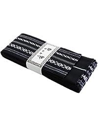 KYOETSU Men's Japanese Kaku Obi Kimono belt Cotton