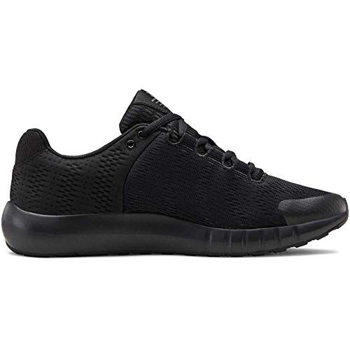 Under Armour Women's Micro G Pursuit BP Running Shoe, Black (001)/Black, 8.5
