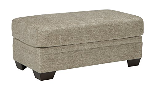 Benchcraft - Barrish Traditional Ottoman & Footrest - Sisal