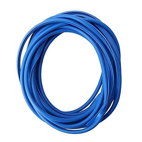 Protección Canto Puerta 2m en Azul para Coche - Perfiles en u Altamente Flexible - Cortable