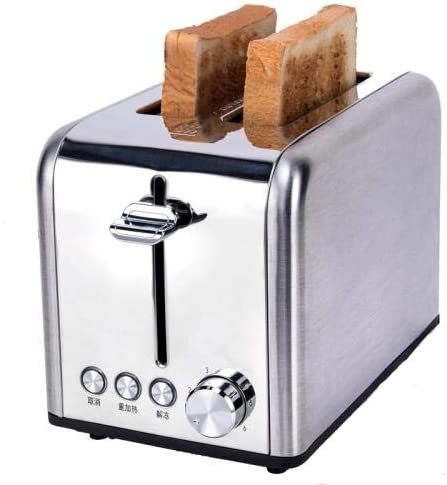 Toaster 2 Slice Extra Wide Slot Toasters Best Rated Prime Stainless Steel AAV23