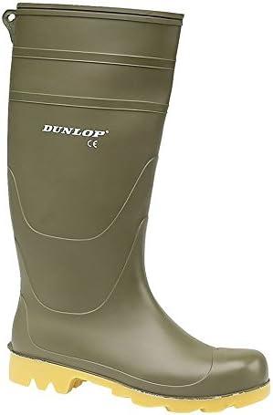 Mens Ladies Dunlop Safety Wellington Wellies Rain Mucker Steel Toe Caps Boots Sz