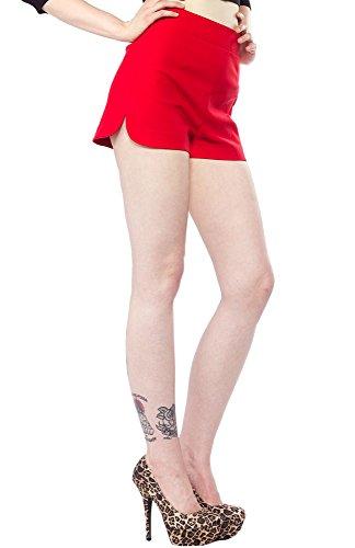 Sourpuss-Sweetie-Pie-Shorts-Red
