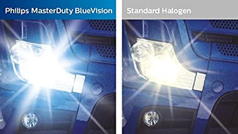 Lámpara Philips H7 24V 70W Master Duty BlueVision Precio