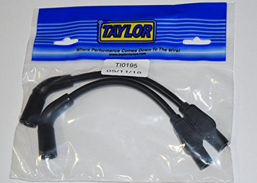- JBSporty ♧ Black Taylor short Wires for Coil relocate Harley Davidson Sportster, Nightster, 72, 48 Iron Roadster 883 1200 ♤