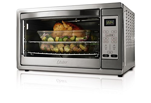 Oster Extra Large Digital Countertop Oven, Stainless Steel, TSSTTVDGXL-SHP (Small Electric Oven compare prices)