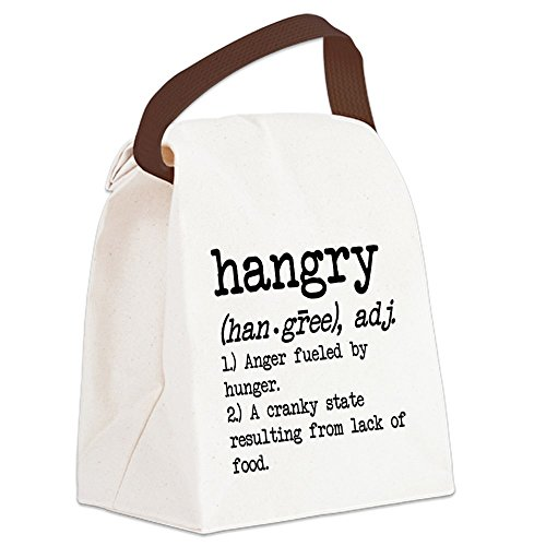 CafePress Hangry Defined Canvas Handle