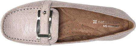 Taupe Mocha Women's Naturalizer Gisella Fabric Snake Two Black Tone W fnPp6Wqcp